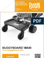 Lascal BuggyBoard-Maxi Owner Manual 2012 (NEDERLANDS)
