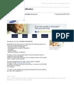Imprimir - Gmail - Samsung Electronics Notification