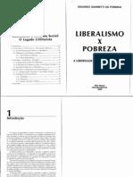 Liberalismo x Pobreza