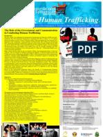 Simposium Internasional - COMBATING HUMAN TRAFFICKING
