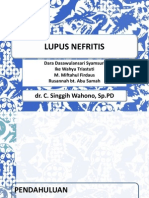 Responsi Lupus nefritis