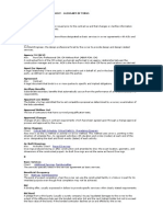 Construction Management Glossary