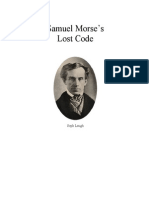 Samuel Morse's Lost Code