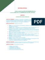 Estatutos de la asociacion de Hemiplejicos, Paraplejicos, Cuadriplejicos del Guayas