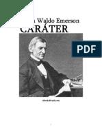 Caráter - Ralph Waldo Emerson