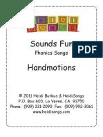 33 HSongsSoundsFunPhonics-Lyrics Motions