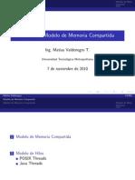 Modelo Memoria Compartida