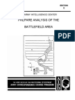 ARMY Prepare Analysis of Battlefield Area 1998 85 Pages