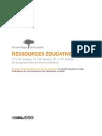 Français - Ressources Éducatives