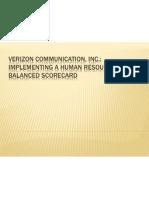 Verizon Communication, Inc