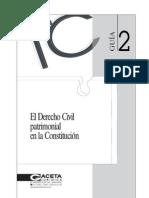 Guia 2 Derecho Civil Patrimonial en La Constitucion