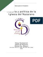 Historia y Politica de La Iglesia Del Nazareno