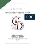 Guia Maestr Comunicacion Oral y Escrita