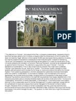 Sewanee Domain Management Planning Ideas - March 2008