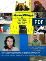 Honor Killings Presentation 1