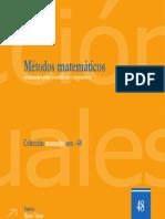 Métodos Matemáticos Avanzados para Científicos e Ingenieros. Santos Bravo Yuste, Uex (2006)
