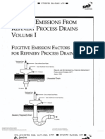 API PUBL 4677 Fugitive Emissions From Refinery Process Drains