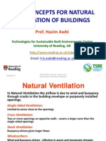 01 Hazim Awbi (University of Reading) - Basic Concepts for Natural Ventilation of Buildings