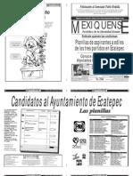 Versión impresa del periódico El mexiquense 29 junio 2012