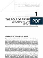 The Role of Protective Groups in Organic Synthesis