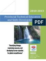 Sectoral Dev't Plan. PTESD Plan 2010-2013
