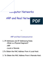 ARP and Real Communication