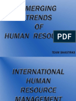 Emerging Trends in HR