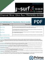 12 Km Run Training Program