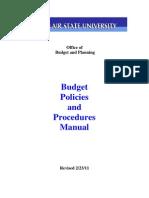 Policies Procedures Manual