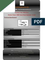 GSM Patch Panel Antenna - 12 Dbi PS1016 A