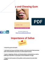 Saliva Chewinggum