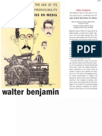 Walter Benjamin - The Work of Art in the Age of Its Technological Reproducibility & Other Writings on Media