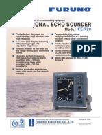 10 Furuno FE700 Echosounder