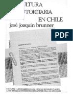 La Cultura Autoritaria en Chile Cap Libro Completo