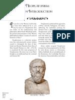 Neoplatonism Intro Digest VOL 90 0512