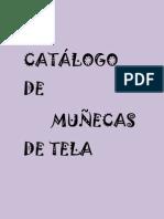 CATÁLOGO DE MUÑECAS DE TELA