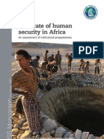 The state of human security in Africa