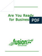 Are You Ready for Business? DPULO Toolkit