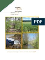 Keep Pennsylvania Beautiful 2012 Chester County Illegal Dump Survey
