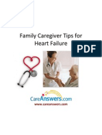 Family Caregiver Tips for Heart Failure