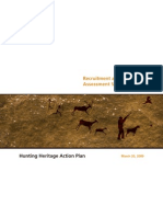Hunting Heritage Action Plan