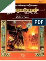 TSR 9237 - DL16 - World of Krynn