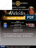 Affiche Poissy 14 Avril 2012