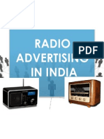 Radio Advertising Synopsis Ppt