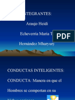 Exp  conductas inteligentes