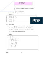 Chapter 13 II Matrices Enhance