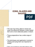 4. Icing Glazes and Sauces