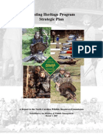 North Carolina 2007 Hunting Heritage Program Strategic Plan
