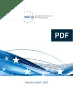 ESMA Annual Report 2011
