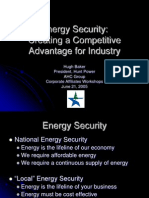Hunt Power Energy Security